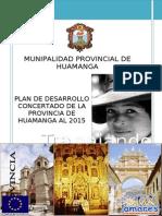 Plan Desarrollo Concertado Huamanga 2015 Actualizado 140409