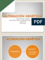 Alteraciones Geneticas Expo