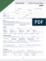 2010 BLC Application Form