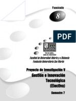 Proy Inv v Fasciculo 8