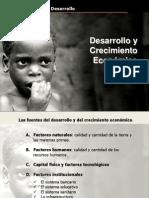 Causas y Consecuencias Del Creciemto Desarrollo y Subdesarrollo