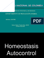 A. Homeostasis Autocontrol Biofisica