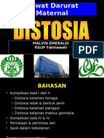 Distosia Dr Malvin