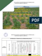 BOLETÍN AGROMETEOROLÓGICO Decenal Nro. 506 - Para la ecoregión del Altiplano- 1ra decenal de Octubre del 2013