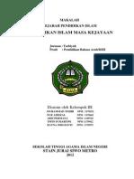MAKALAH Sejarah Pendidikan Islam