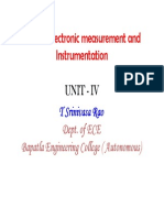 Electronic Measurements and Instrumentation - 4