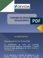 Consumo de Drogas Adolescentes