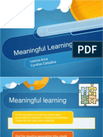 Meaningful Learning1