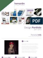 Design Portfolio - 2011/2013