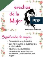 Derechos de la Mujer_Astrid Díaz