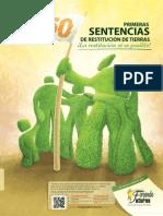 analisis 150 primeras  sentencias de restitucion de tierras fundacion forjando futuros