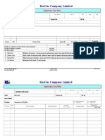7.1 Inspection Test Plan