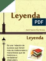 La leyenda_Astrid Díaz