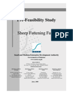 SMEDA Sheep Fattening Farm