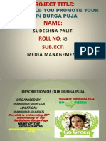 Puja Promotion Ppt