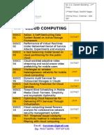 Cloud Computing 2013-2014