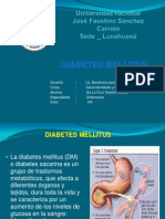 Diabetes Mellitos _ENFERMERIA