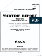 NACA ACR L5G28 Bibliography and Review of Information Relating to the Hydrodynamics of Seaplanes