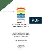 Dody Firmanda 2013 - Format Clinical Pathways 6 Hari