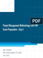 Day 3 - Project Management Methodology With PMP Exam Preparation Ver 1