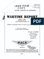 NACA ARR 3I17 General Porpoising Tests on Flying-boat-hull Models