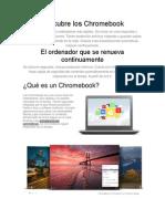 Descubre Los Chromebook