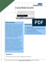Corecess 3700 Series Datasheet v1.0