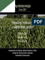 Clase14 Aplicaciones de Marcadores Moleculares