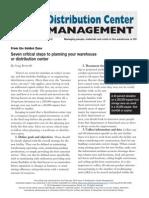[SCM] Distribution center mgmt.pdf