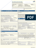 Application Form. City Bank PDF