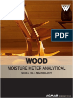 Wood Moisture Meter Analytical