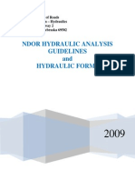 Hydraulic Guidelines & Forms