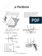 IV BIM - 5to. Año - GEOM - Guía 8 - Parabola