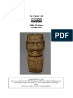 An Olmec Ax