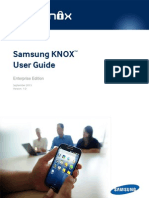 Samsung KNOX User Guide (Enterprise) 1