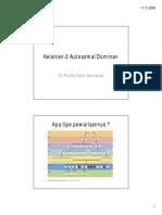 Kelainan2 Autosomal Dominan [Compatibility Mode]