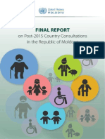 Final Report on Post-2015 Consultations in the Republic of Moldova