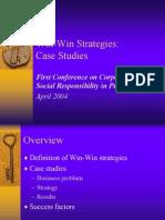 Win Win Strategies SanJuan