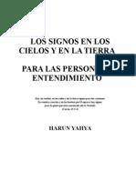 LOS SIGNOS EN LOS CIELOS Y EN LA TIERRA /PARA LAS PERSONAS DE ENTENDIMIENTO