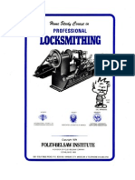 Locksmithing Course - Foley-belsaw