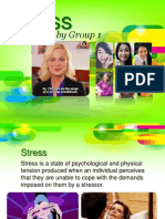 Stress (Human Adjustment) Psychology