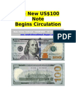 New USD 100 Note Begins-VRK100-03Oct2013
