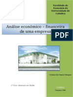 ESTUDO ANALISE FINANCEIRA