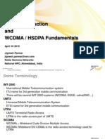 UMTS Introduction & Wcdma HSDPA Fundmental JP