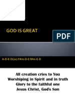 God is Great (hillsong)
