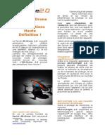 Parrot AR.Drone 2.0 (FR)