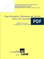 Eli Franco (Ed)-Yogic Perception, Meditation and Altered States of Consciouness