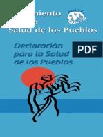 Declaracion Para La Salud de Los Pueblos