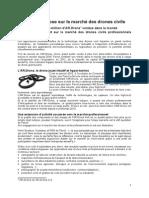 Parrot Engagement Sur L eMarché Des Drones Civils (FR)