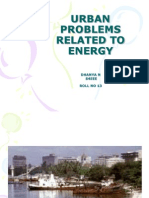 Urban Problems Related to Energy[1]